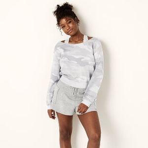 Victoria's Secret PINK Open-Neck Crew Sweatshirt